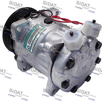 Compresseur SE 7H15 12V 119mm PV8 R V