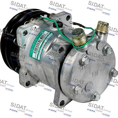 Compresseur SE 5H14 24V 132mm 2GA OR V